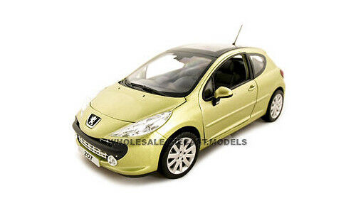 Peugeot 207 oro 1 18 Diecast Model Coche By Norev 184758