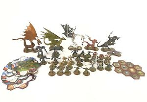 Heroscape-Rise-of-the-Valkyrie-Lot-of-35-Figures-and-Accessories