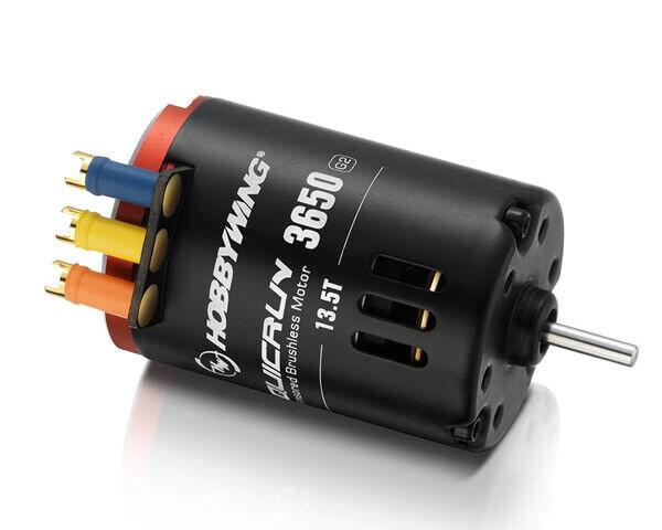 Hobbywing Brushless Motor Quicrun 3650SD G2 13.5T 2850kV Sensorojo Modelismo