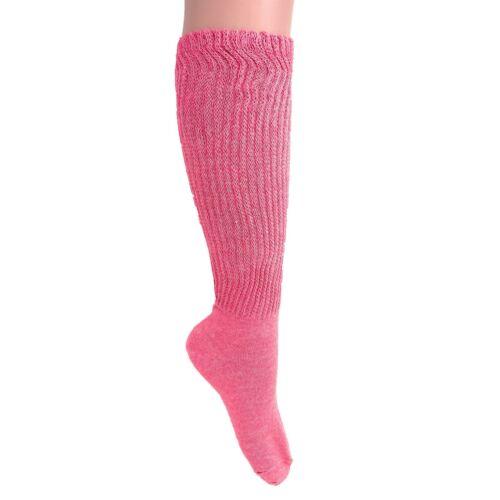 2 PAIR SLOUCH SOCKS FOR WOMEN// SIZE 9-11 WHITE