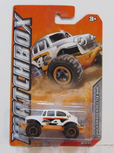 MATCHBOX 2012  VOLKSWAGEN BEETLE 4X4 DESERT #41//120