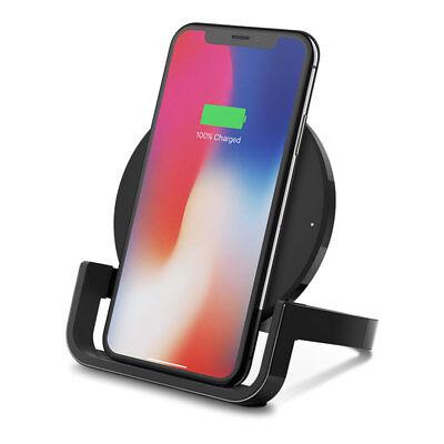 Belkin BOOST UP Wireless Qi Charging Stand 10W BLACK F7U052vfBLK   eBay