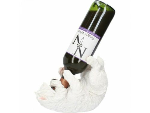 BNIB West Highland Terrier 22cm Nemesis Now Westie Wine Bottle Holder Guzzler