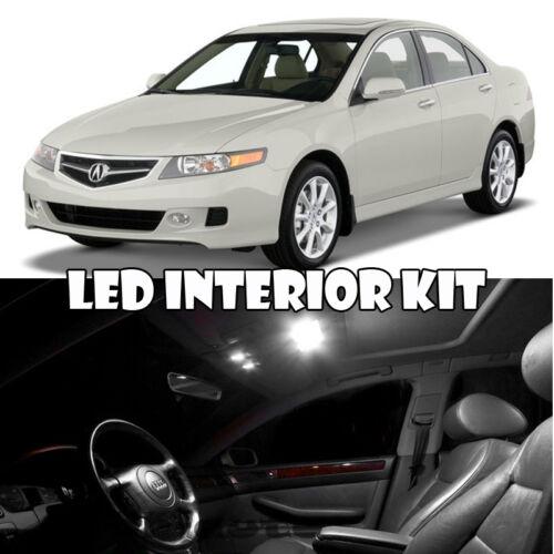 04-08 Acura TSX Interior LED White LED Bulb Package Map Dome Trunk Sun Visor