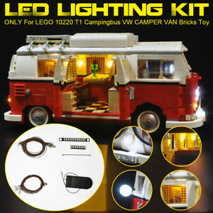 LED-Licht-Beleuchtung-Kit-Fuer-LEGO-10220-T1-Campingbus-VW-CAMPER-VAN-Lightin