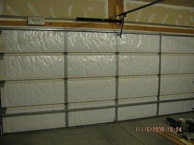 Nasatek Reflective 2 Car White Foam Garage Door Insulation Kit 16hx7l R7 24 Quot Ebay