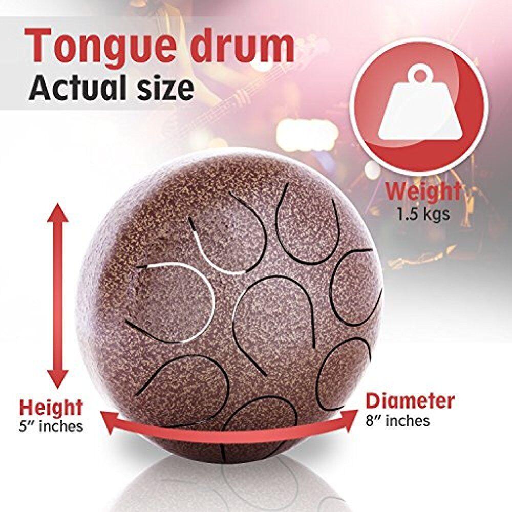 Professional mini steel tongue percussion drum, hand pan,hand drum, tongue drum