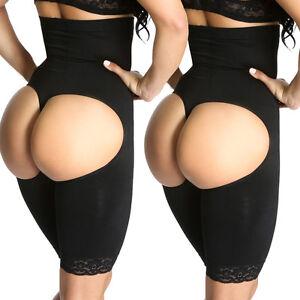 dbfb0b2cff9c6 High Waist Enhancer Butt Trainer lifter Thigh full body shaper faja ...