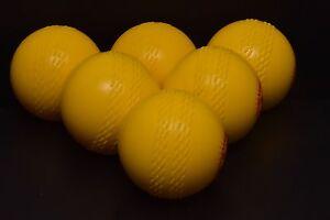 Kwik-Balls-Yellow-Cricket-Soft-indoor-training-club-outdoor-windball-wind-ball