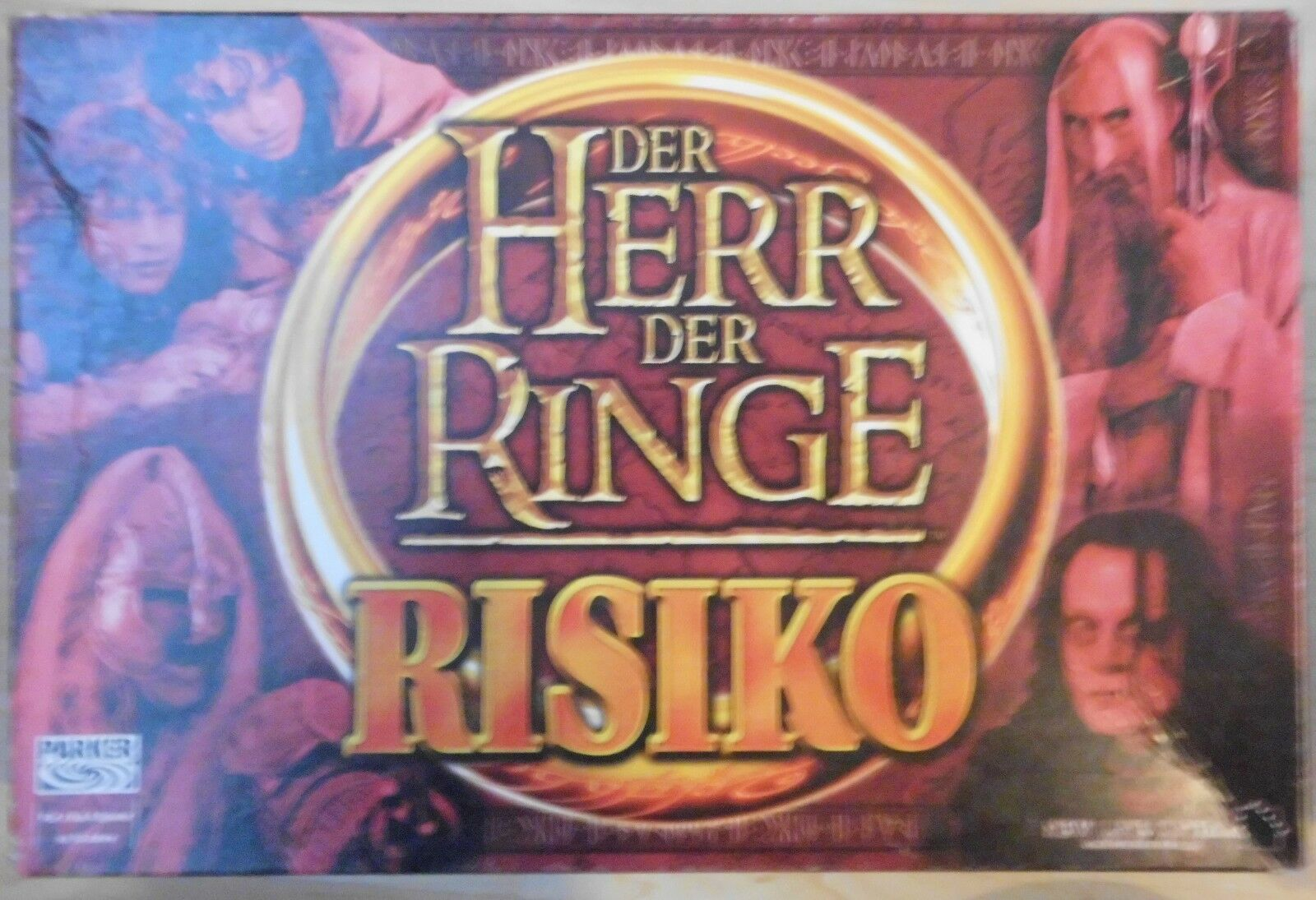 DER HERR DER RINGE RISIKO + GONDOR & MORDOR MORDOR MORDOR ERWEITERUNG        PARKER cc3197