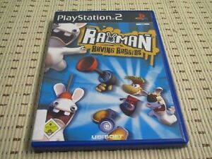 Rayman-Raving-Rabbids-para-PlayStation-2-ps2-PS-2-embalaje-original