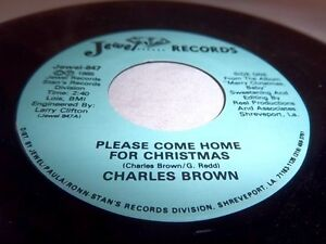 image is loading charles brown please come home for christmas in