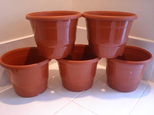 20 pianta decorativa Pot Fioriera arbusto Patio buona qualità vasi di plastica delle piante.
