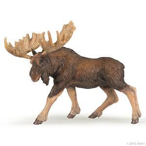 Papo-50065-Alce-13-cm-animales-salvajes