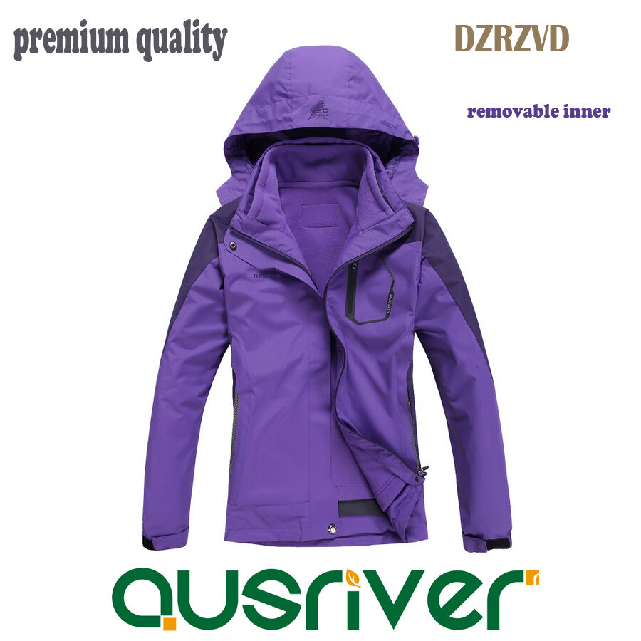 Premium Lady New Outdoor DZRZVD Sports Ski Snow Climbling Soft Shell Jacket Coat