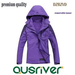 Premium Lady New Outdoor DZRZVD Sports Ski Snow Climbling Soft Shell Jacket Coat