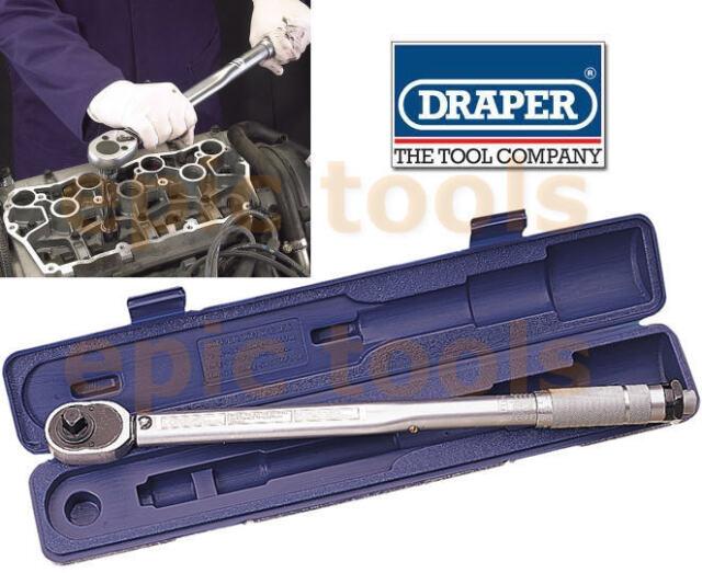 Draper 1.3cm Sq.drive Micromètre Clé à Cliquet Réversible Clé Dynamométrique