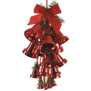 image is loading peeks red bell large christmas xmas room decorations - Large Christmas Bells Decorations
