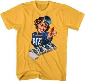 Heren: kleding Pez Candies Vintage Pez Girl Peppermint Pez Adult T Shirt Kleding en accessoires