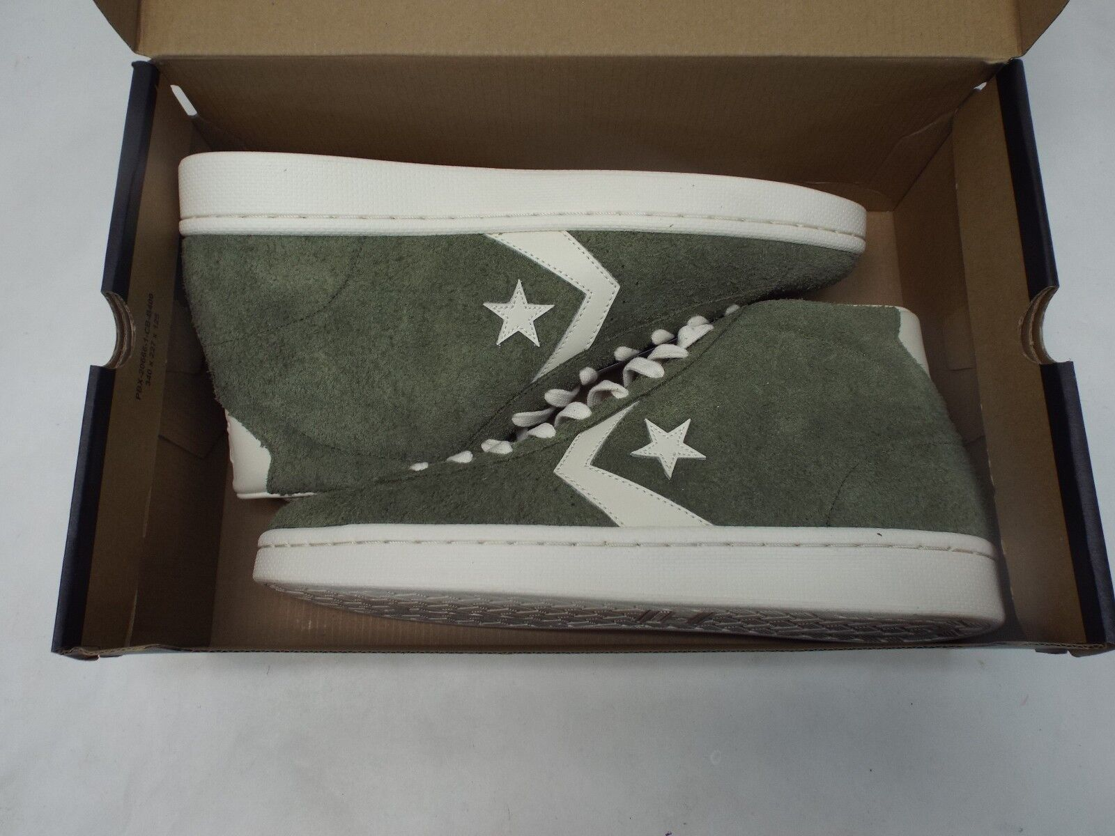 New  Herren Mid 9.5 Converse Pro Leder Mid Herren Medium Olive Star Player Schuhes 157690C 8 7de790