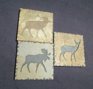 John Deere ceramic tile coaster set of 3