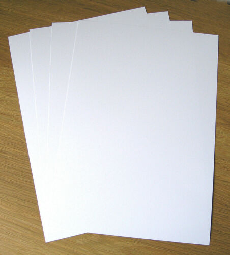 Laser Printable Glossy 250gsm Blank Greeting Cards  A4//A5 100