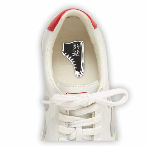Zapato ultrastick NAMETAPES//Etiqueta Bota Impermeable Pegatinas personalizado forma-Rosa