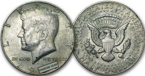 Details about  /Kennedy 40/% SILVER Half Dollar Roll $10 Face Value 20 coins