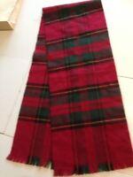 Tørklæde, Ren blød uld, Fransk, str. Mellem str.