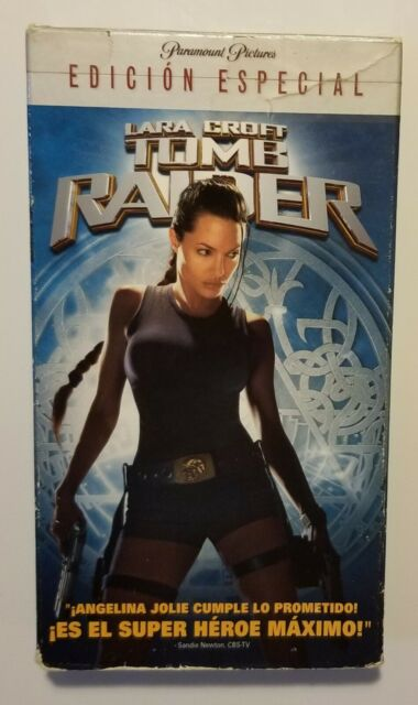 Tomb Raider 2001 Vhs For Sale Online Ebay