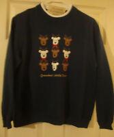 Classic/elementspetitechristmas/grandmas/little/dears/sweatshirt (pm) N/w/tag