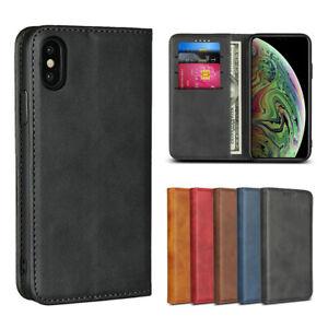 Pour-Apple-iPhone-X-XR-Xs-Max-Luxe-Magnetique-en-Cuir-Portefeuille-a-Rabat-Case-Cover