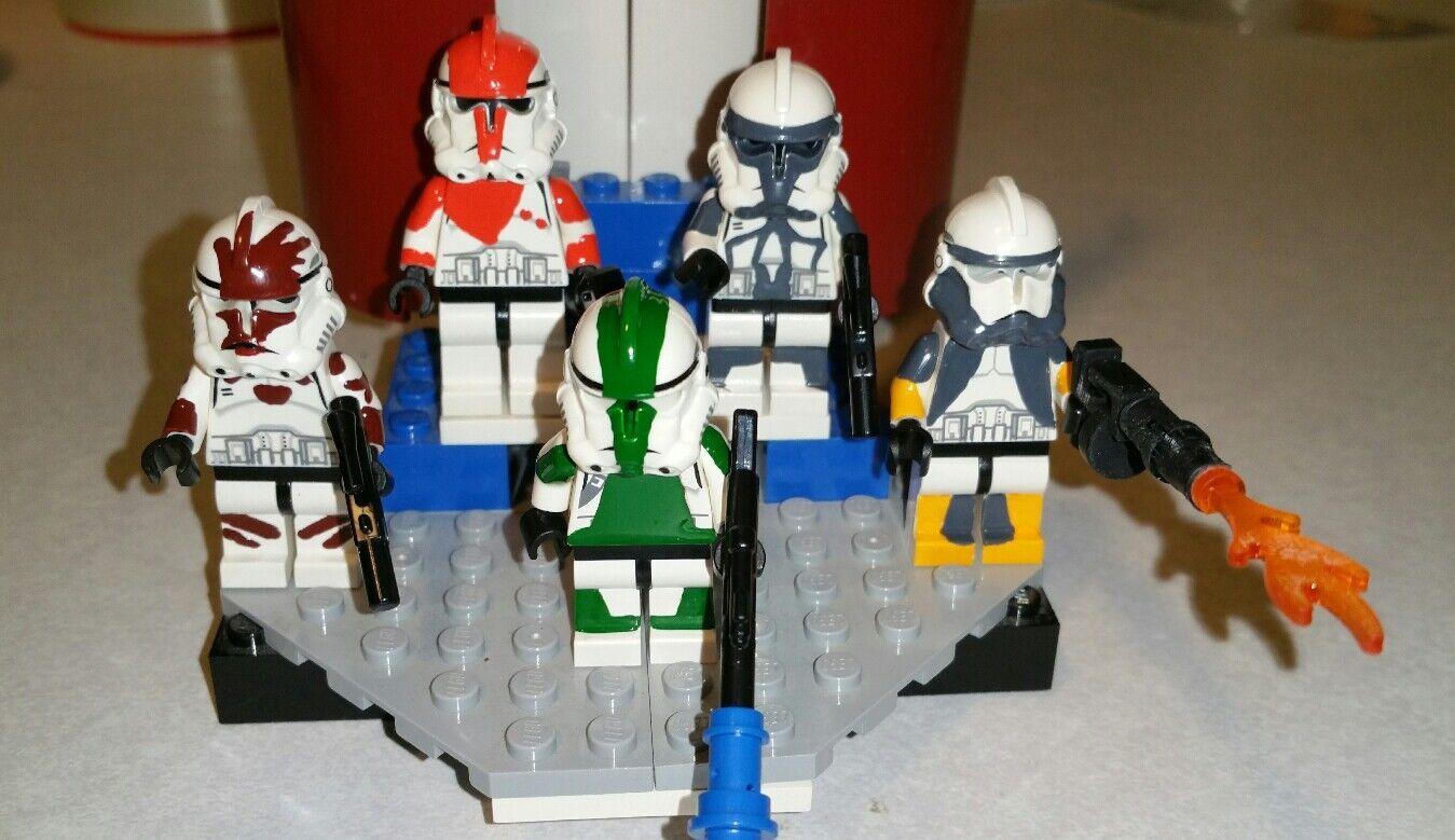 Lego  estrella guerras Delta Squad Republic Comuomodos Scorch, Fixer, Boss, Sev, Waton  negozio online