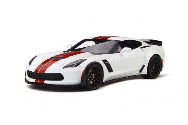 Invincible pour pour pour forcer le groupe à acheter aucune livraison à des prix abordables Chevrolet Corvette 2017 C7 Z06 GT SPIRIT 1:18 GT214 | Valeur Formidable  b331fa