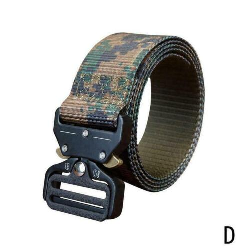 Taktischer Gürtel Heavy Duty Soldier Mens Military Trainingsgürtel Army Com H2M1