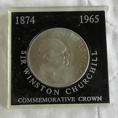 Churchill Crown 1965 UNCIRCULATED FREE P/&P to UK
