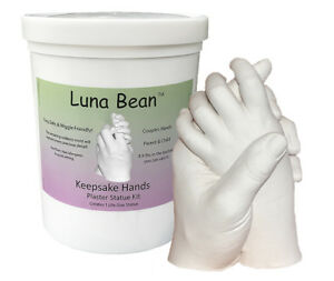 Luna-Bean-KEEPSAKE-HANDS-CASTING-KIT-Couples-Wedding-Mom-Baby-Plaster-Hand-Mold