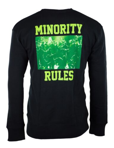 The Hundreds Sweatshirt Sweater Pullover Minority Rules Green Crewneck Shirt