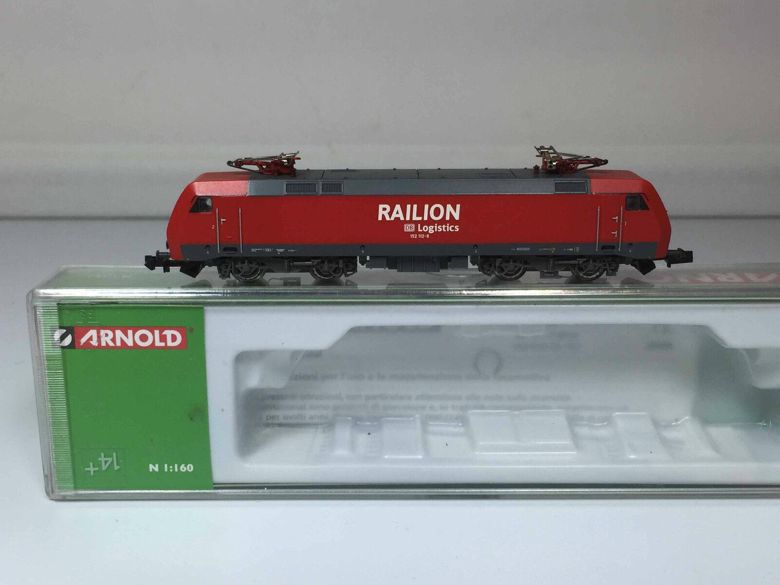 Arnold HN 2020 Elektrolok BR 152 112 -9 der Railion DB Logistic - Sehr Gut - OVP    Good Design