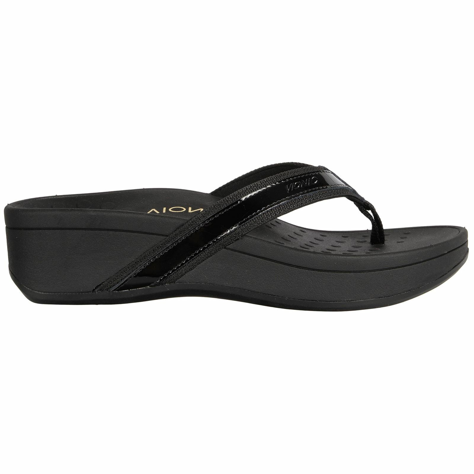 Vionic 380 hightide Pacific nero donna nero sandals all Dimensione