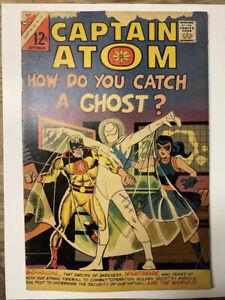 Captain Atom #82/Silver Age Charlton Comic Book/1st Nightshade/GD+