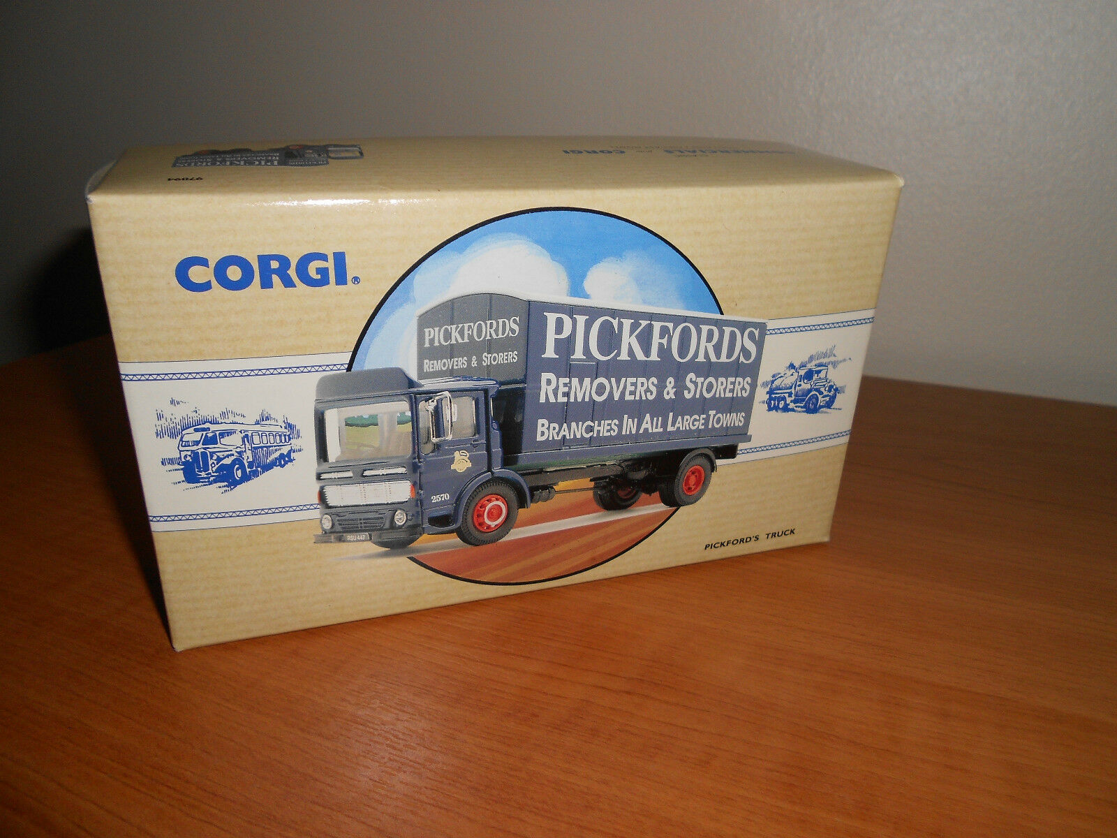 CORGI 97894 AEC MERCURY TRUCK  pickfords