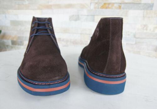 LA MARTINA 40 Zapatos de Cordones Zapatos Botines L6029104 Braun Nuevo Antiguo