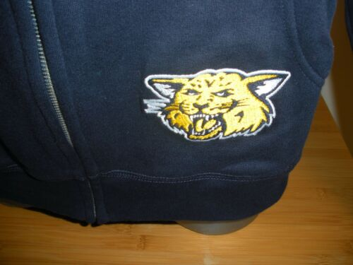 New University High School Wildcats  Full Zip Long Sleeve Hooded Sweatshirt