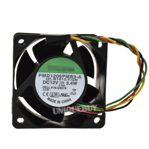 For SUNON PMD1206PMB3-A 12V 3.4W 0.28A 60*38mm cooling fan 4pin