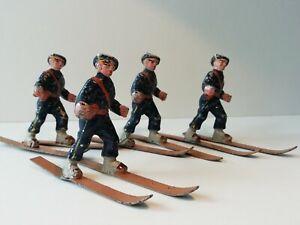 Quiralu 4 Chasseurs Alpins À Ski