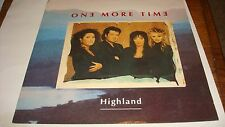 "Highland ""One More Time"" 12"" Maxi-Single Near Mint Vinyl England"