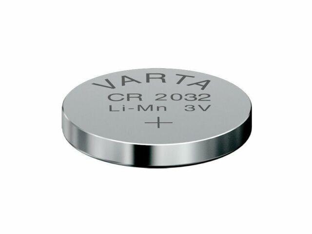 1x Varta CR2032 Lithium Knopfzelle 3V CR 2032 VARTA Industriezelle