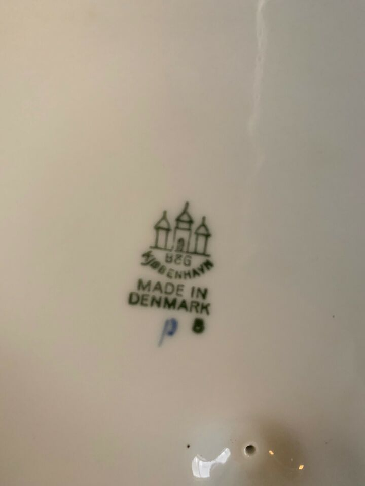 Porcelæn, Kartoffelterrine, Bing og Grøndahl