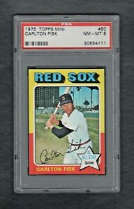 1975-TOPPS-MINI-80-CARLTON-FISK-HOF-BOSTON-RED-SOX-PSA-8-0-NM-MT-CENTERED